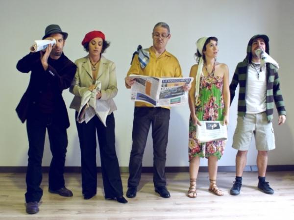 Oscar Mas, Mariona Castillo, Carmen Sanchez, Jordi Sanosa y Marc Vilavella